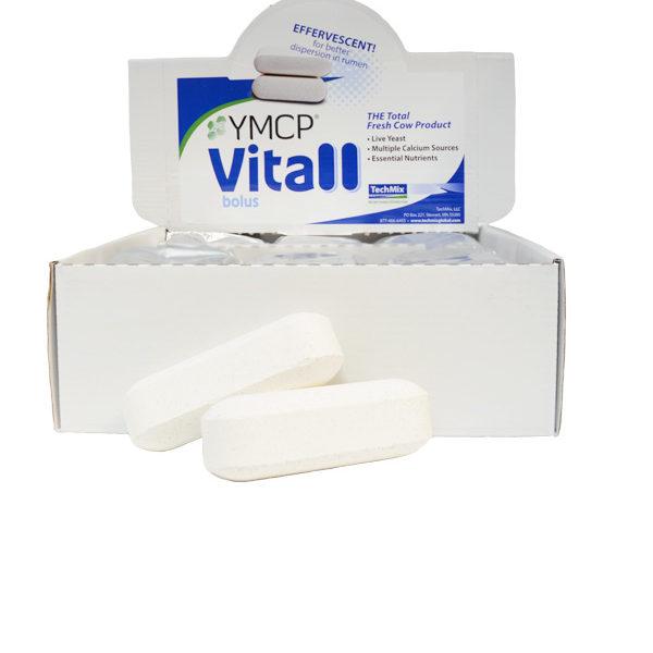 Αναβράζοντες βώλοι ασβεστίου αγελάδων YMCP Vitall®